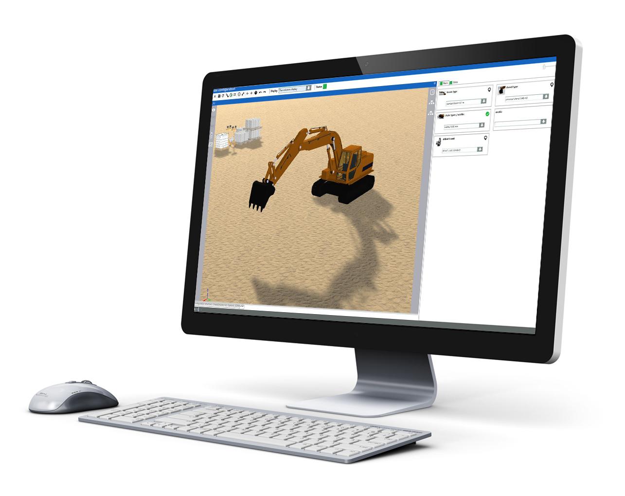 bagger 3d software