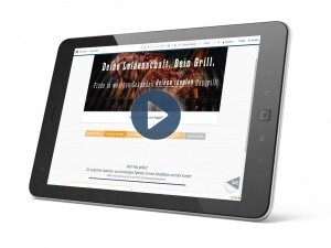 Link zu CPQ Product finder Grill Demo